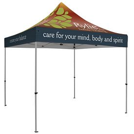 Promotional Premium 10 Ft Square Tent (Full Color Sublimation)