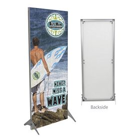 Promotional 32-inch Impress Fabric Display Kit Single-Sided