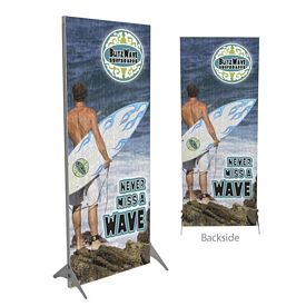 Promotional 32-inch Impress Fabric Display Kit Double-Sided