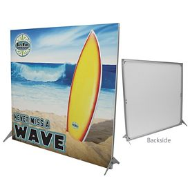 Customized 79-inch Impress Fabric Display Kit Single-Sided