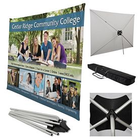 Promotional 8 Ft Traverse Display Kit