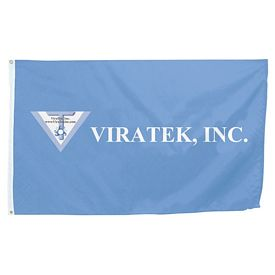 Promotional 3 Ft x 5 Ft Full-Color Flag (1-Sided)