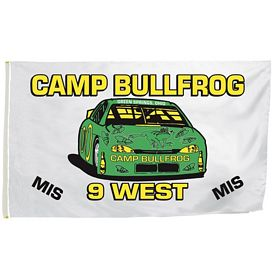 Promotional 5 Ft x 8 Ft Full-Color Flag (2-Sided)