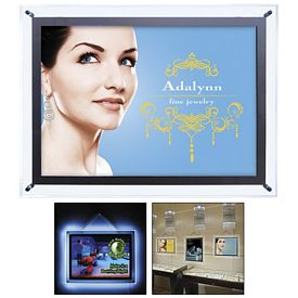 Promotional 14-inch x 20-inch Crystal Edge Light Box Kit