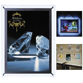 Customized 25-inch x 31-inch Crystal Edge Light Box Kit