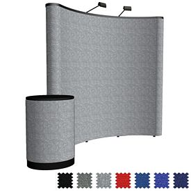 Promotional 8 Ft Arise Curved Floor Kit (Fabric)
