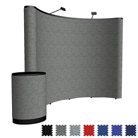 Promotional 10 Ft Arise Curved Floor Kit (Fabric)