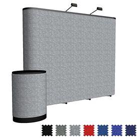 Customized 10 Ft Arise Straight Floor Kit (Fabric)