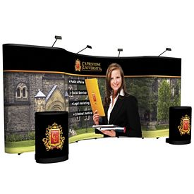 Promotional 20 Ft Arise Combination Floor Display Kit (Full Mural)