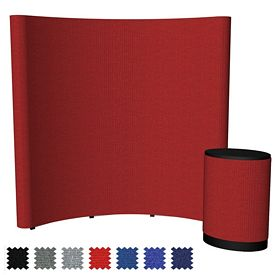 Promotional 8 Ft Echo Pop-Up Display (Fabric Only)