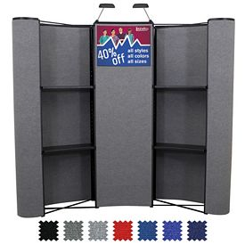 Promotional 8 Ft Deluxe Merchandiser Product Display Kit