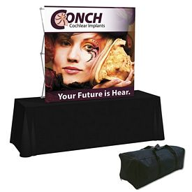 Promotional Splash 6 Ft Straight Tabletop Graphic Kit (Face Only)