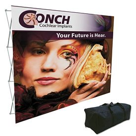 Promotional Splash 10 Ft Straight Floor Graphic Kit (Face Only)