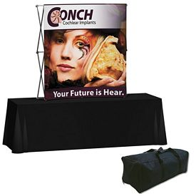 Promotional Splash 6 Ft Curved Tabletop Graphic Kit (Face Only)