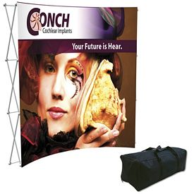 Promotional Splash 8 Ft Curved Floor Graphic Kit (Face Only)