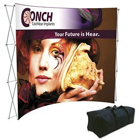 Promotional Splash 10 Ft Curved Floor Graphic Kit (Face Only)