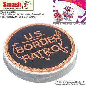 Promotional Compressed T-Shirt: Border Patrol