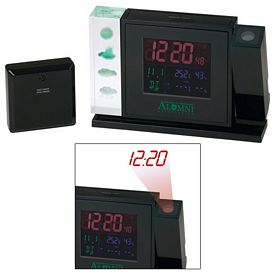 Promotional Crystal Weather Station w Projection Clock