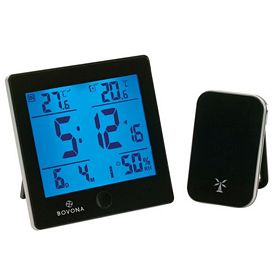 Promotional Helius Weather Station with RC Clock
