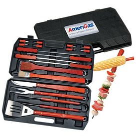 Promotional Barbeque 18-Piece Cooking BBQ Set