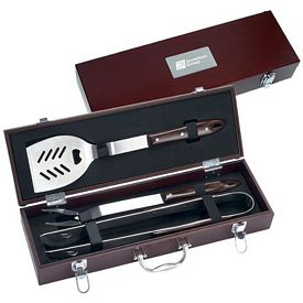 Promotional 3 Piece Executive Barbecue Set