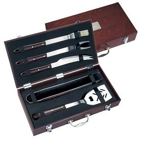 Promotional 5 Piece Executive Barbecue Set