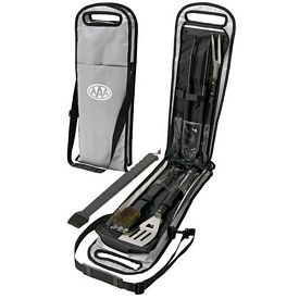 Promotional 5pc BBQ Set in Carrying Case