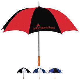 "Promotional 60"" Two Tone Golf Umbrella"