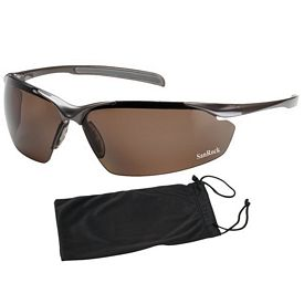 Promotional Bouton Commander Polarized Brown Glasses