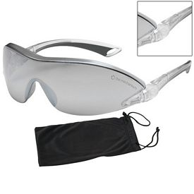 Promotional Bouton Airborne Silver Mirror Glasses