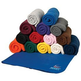 Promotional 50x60 Polyester Fleece Blanket