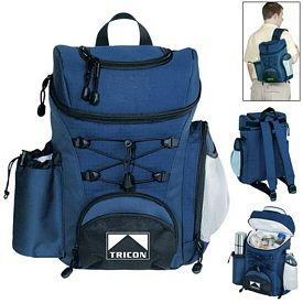 Promotional 12 Can Backpack Cooler