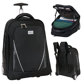 Promotional Vector Wheeled Computer Backpack