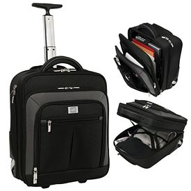 Promotional Wheeled Ferraro Carry-on w Compu-sleeve