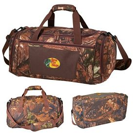 Promotional 600D Polyester Camo Duffel