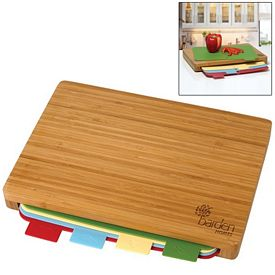 Promotional 5-Piece Bamboo Cutting Board Set