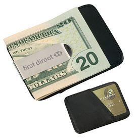 Promotional Money Clip Card Case