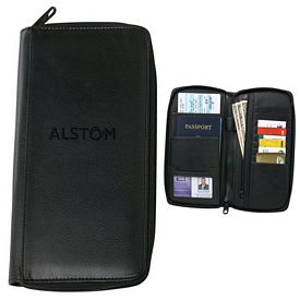 Promotional RFID Blocking Deluxe Travel Wallet
