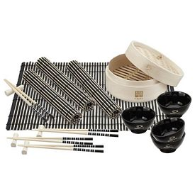Promotional Bamboo Steamer Set