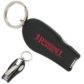 Promotional Nail Clipper Keyfob