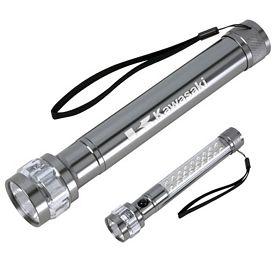 Promotional Roadside Push Button LED Safety Flashlight