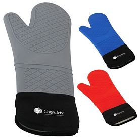 Promotional 15 Silicone Oven Mitt