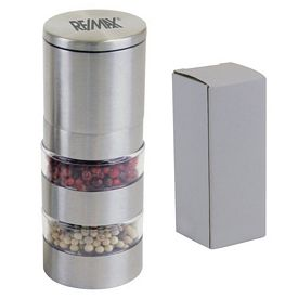 Promotional Stainless Double Level Pepper Mill
