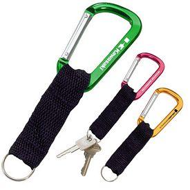 Promotional Keyring Strap Carabiner Hook