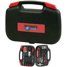 Promotional 123pc Tool Set with Bi-Fold Carrying Case