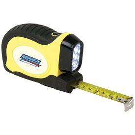 Promotional 16 LED Flashlight Tape Measure