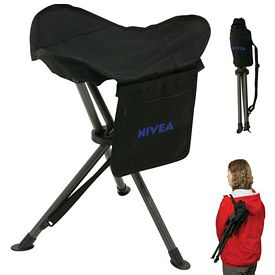 Promotional Tripod Folding Lawn Stool