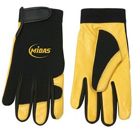 Promotional Cow Grain Mechanics Glove