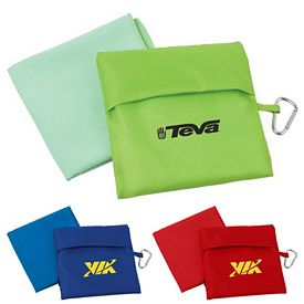 Promotional Microfiber Towel w Pouch