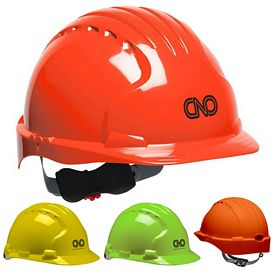 Promotional Evolution Deluxe 6151 Hi-Viz Hard Hat